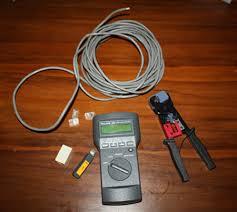 peralatan lengkap instalasi kabel UTP